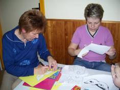 Mateřská školka - výroba masek