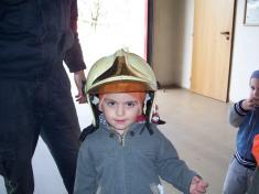 Děti zMŠ uhasičů