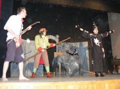 Divadelní představení Čtverák hastrman