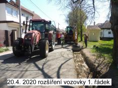Z investiční činnosti z obce 2020