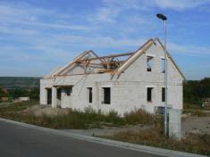 Nová výstavba IV.řádek (foto 23.9.2007)